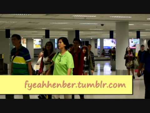 [FANCAM/130922] f(x) Amber at Ninoy Aquino International Airport - Terminal 3 (NAIA3) Manila