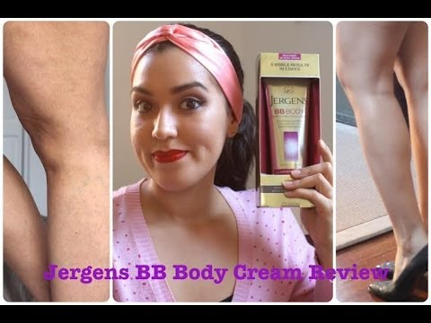 Jergens Body Lotion Review Jergens bb Body Cream Review