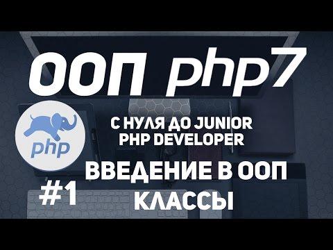ООП для начинающих в PHP. Введение основы ООП. Классы и объекты.