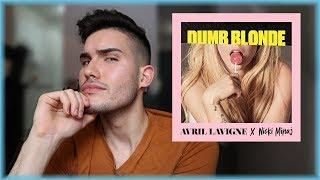 Avril Lavigne Feat Nicki Minaj Dumb Blonde Reaction
