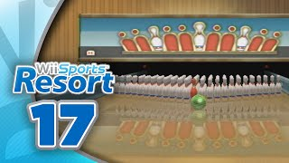 Wii Sports Resort: Part 17 | Bowling - 100 Pin Game (4-Player)