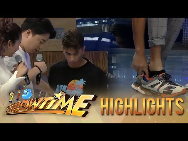 It's Showtime: Ryan does not want Nikko to wear his shoes