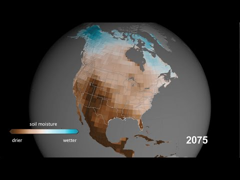 NASA   Megadroughts Projected for American West