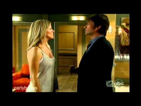 hospital. Carly and Blair meet. Blair warns Carly of Todd. Features