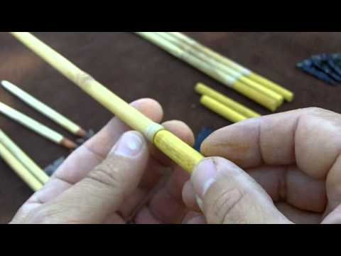 271 - Vlog - Making River Cane Arrows 1/9