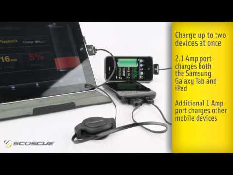 Scosche goBAT II - Portable Charger & Backup Battery - IPDBAT2