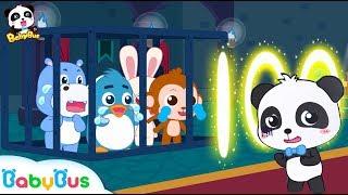 Baby Panda's Number Magic | Kiki Rescues Friends | Math Kingdom Adventure | Panda Cartoon | BabyBus