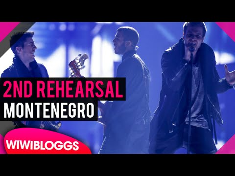 "Second rehearsal: Highway ""The Real Thing"" (Montenegro) Eurovision 2016 