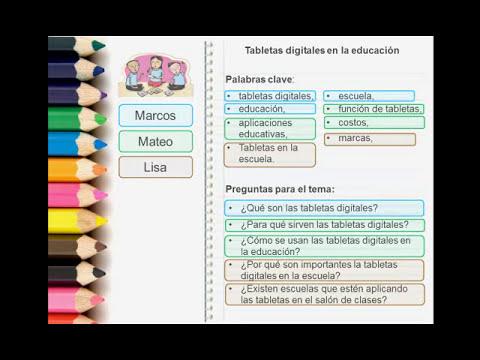 Tutorial para hacer un Texto Expositivo (Español - Parte 1)