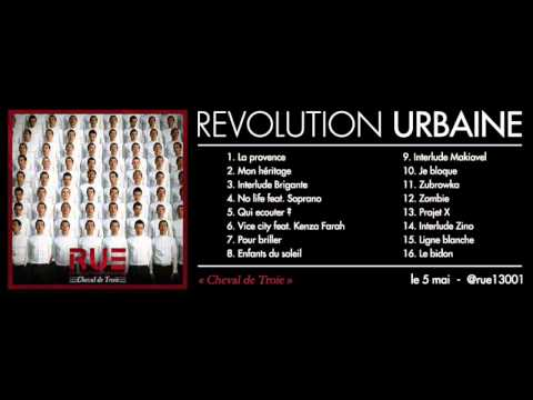 Révolution Urbaine feat Soprano - No life - (son officiel)