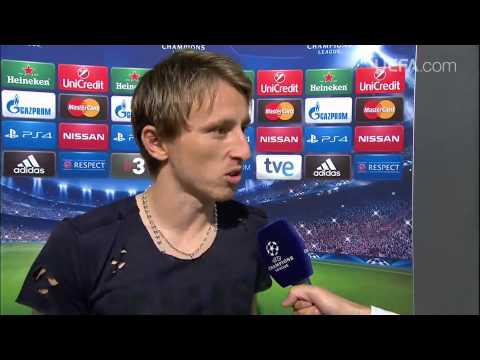 Luka Modrić nakon utakmice protiv Basela