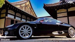 (4K)SPYKER C8 LAVIOLETTE 2001 اسپایکر سی۸ - スパイカーC8ラビオレット・世界の名車