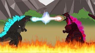 GODZILLA 2:  EVOLUTION of GODZILLA vs SHIN GODZILLA - The Last War (Part 6)