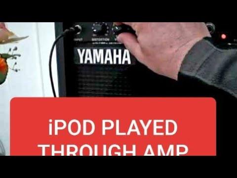 iPod Played Through Amp etc.
