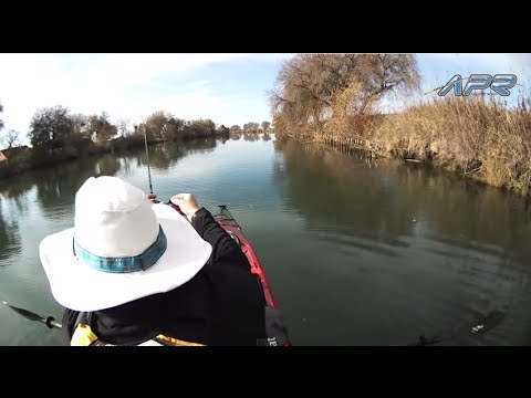 Kayak Fishing in Lodi, California