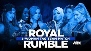 Download 720pHD WWE Royal Rumble KickOff Show 2017 Six Womens Tag Team Match 3Gp Mp4