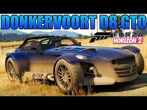 EK Plays - Forza Horizon 2 - #4 Donkervoort D8 GTO, Driver SF Challenger & Ford Capri Barn Find !!!
