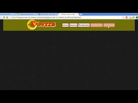Curso de Diseño de paginas web dinámicas con estética profesional - 1