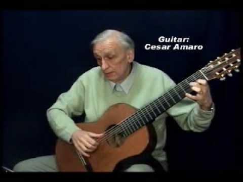 Danse - Johan Antonin Logy - by Cesar Amaro (8 String guitar)