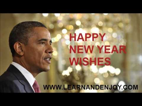 Obama New Year Wishes 2013