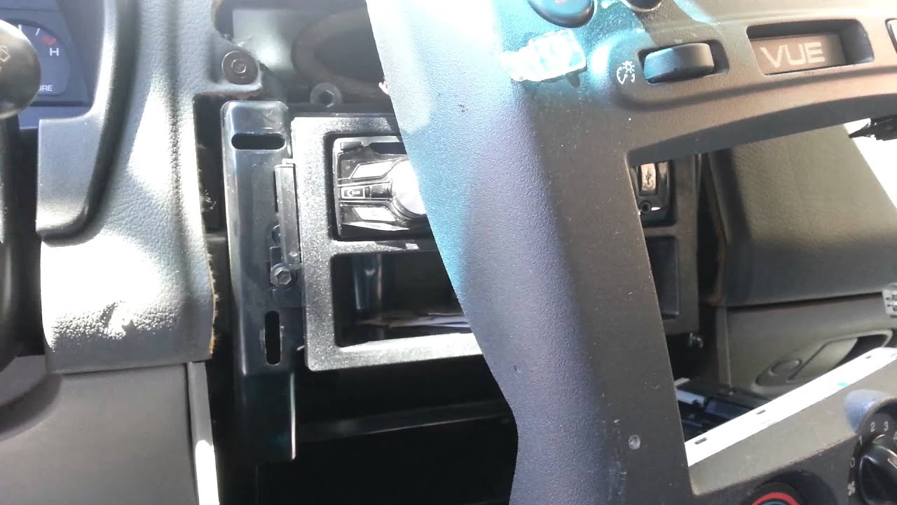 Saturn Vue 2003 Bcm Mounting Amp Removal Youtube