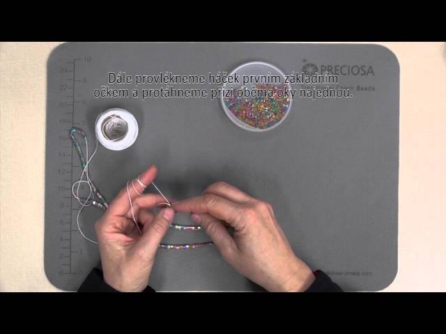 PRECIOSA ORNELA - Háčkování se skleněnými perličkami