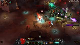 Diablo III - Greater Rift 100 - Necromancer Rathma Set