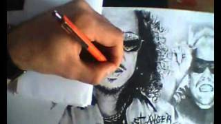 Metallica - Speed Drawing