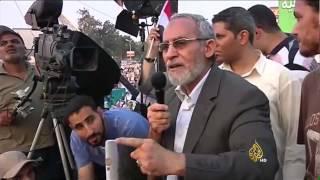 الحكم بإعدام مرشد الإخوان و13 آخرين
