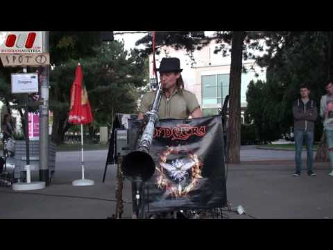Dave Johnson (Australia). DidgEra. Vienna Street Performers by RussianAustria (Full HD)