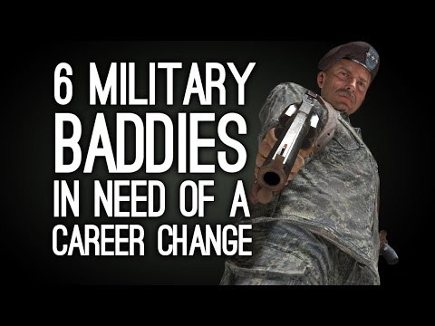 6 Military Baddies in Serious Need of a Career Change