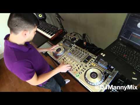 CDJ 2000 Nexus Platinum scratching with @DJMannyMix