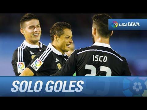 Todos los goles de Celta de Vigo (2-4) Real Madrid