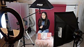 My Filming Setup + Beauty Room Tour! (Backdrops, Lighting & Cameras)