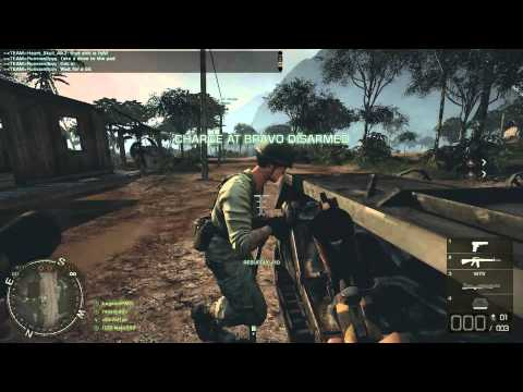 BFBC2: Vietnam: Phu Bai Valley M16A1 Rush Attack Live Commentary