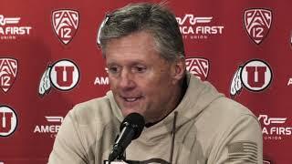 2018 Utah football: Kyle Whittingham talks Utes' 32-25 win over Oregon