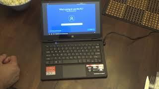 """Unbox & Setup: Direkt-Tek 11.6"""" Touchscreen Convertible Laptop"""