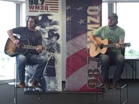 Easton Corbin @ 98.7 WMZQ! Video