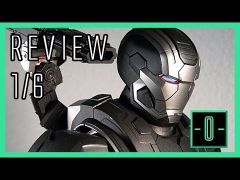 Hot Toys Iron Man 3: War Machine Mark II video review - MMS198 - D03