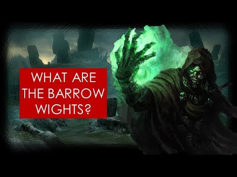 Middle-earth Mysteries: Barrow-wights THEORY [Lord of the Rings lore]