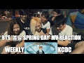 BTS '봄날 (Spring Day)' MV REACTION [WeeklyKCDC]