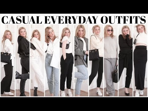 How To Style with Basics! Everyday Casual looks