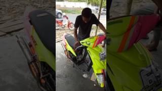 Matic tune up 150cc OYRT (Oprek Yellow Racing Team)  pematang siantar