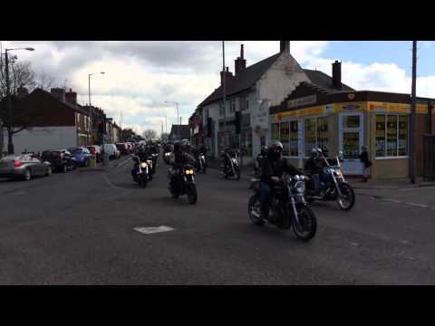 Hells angels Neil Mott funeral tribute 2014