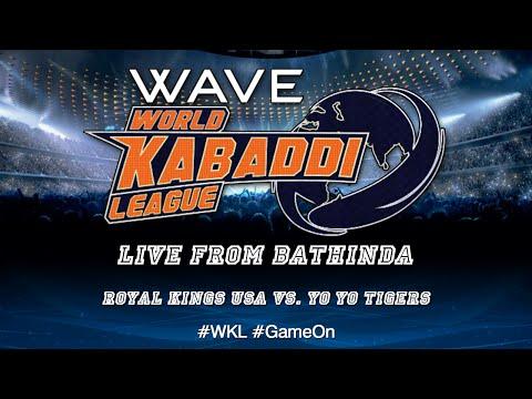 World Kabaddi League, Day 26: Royal Kings USA Vs. Yo Yo Tigers