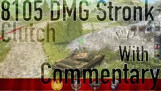 T-62A 8000+ DAMAGE With Commentary [WoT Blitz]
