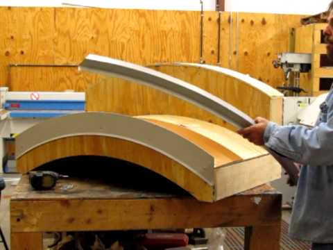Radius Curved Metal Roof Details Youtube
