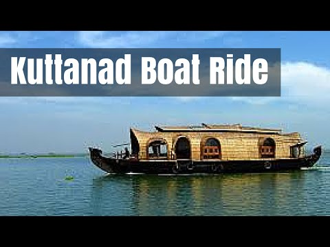 Kuttanad Boat Ride Scenes - A good travel place