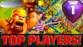"Clash of Clans ""Attacking the Top Player In The World""  ♦ CoC ♦"