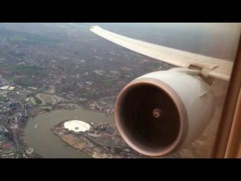 Cathay Pacific CX253 HKG-LHR Landing